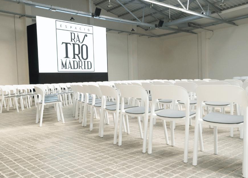 Rastro Madrid espacio