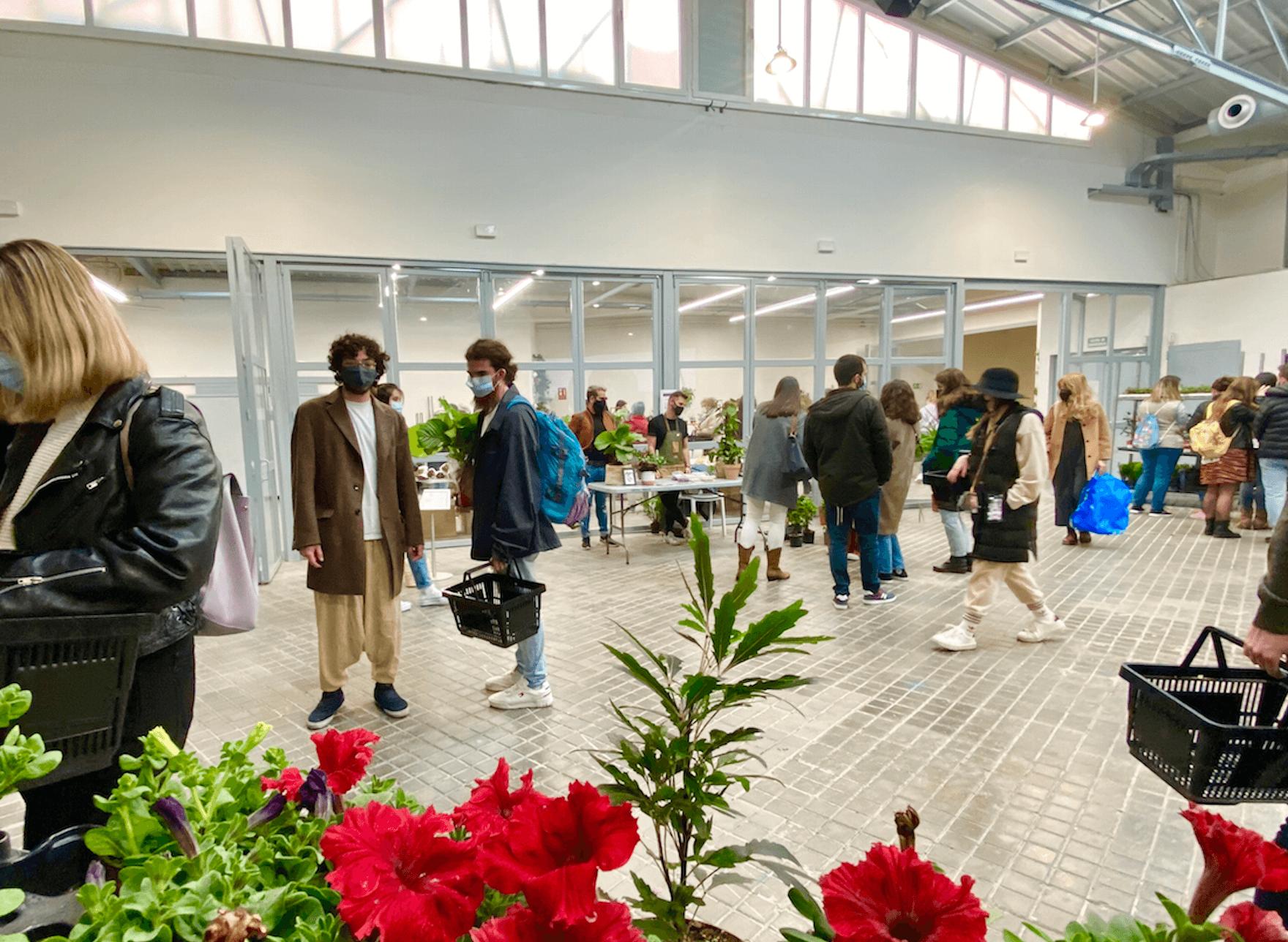 venta de plantas en Espacio Rastro Madrid